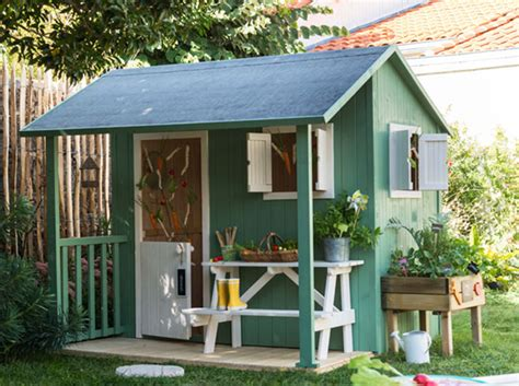 cabane de jardin enfant une cabane pour mon jardin d 233 coration