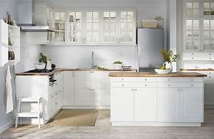 Cuisine blanche ou gris clair forum mode for Idee deco cuisine avec cuisine blanche et grise et bois