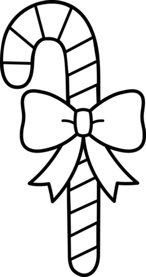 candy cane  bow  art  clip art
