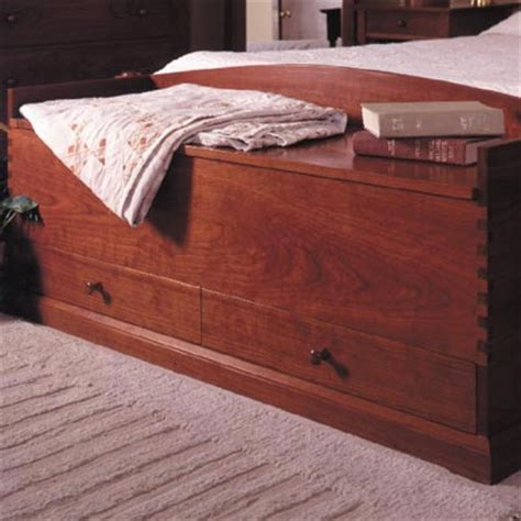 shaker style blanket chest woodworking plan furniture chests