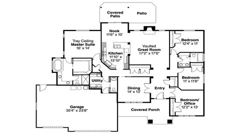 level house plans craftsman one floor plans craftsman house floor