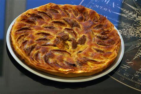 tarte aux pommes à la cannelle par mamy la