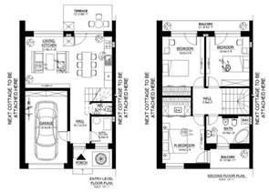 modern style house plan 3 beds 1 50 baths 1000 sq ft