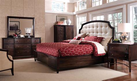 intrigue leather panel bedroom set  art