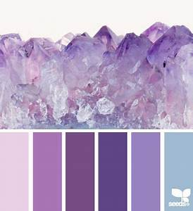 amethyst hues (design seeds) | Second weddings, Design and Hue