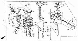 Honda Atv 2001 Oem Parts Diagram For Carburetor