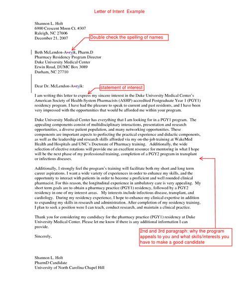 sample letter  interest medical school letter  intent