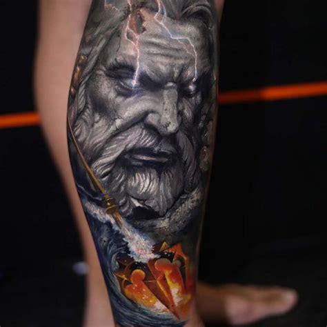 poseidon tattoo ideas  pinterest poseidon