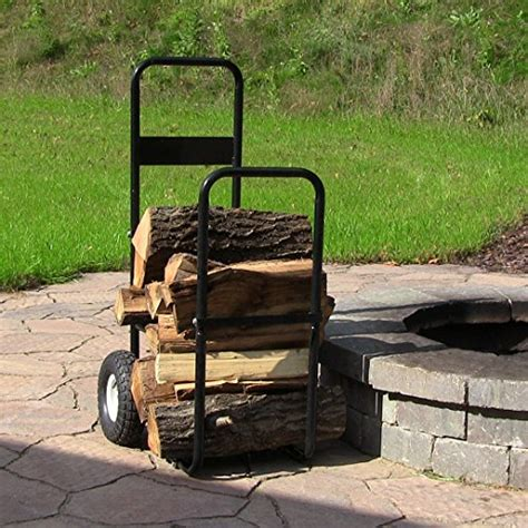 log carrier with wheels firewood cart carrier mover wheel dolly moving firewood 7152