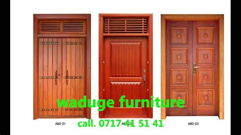 latest house door window designs  sri lanka  door