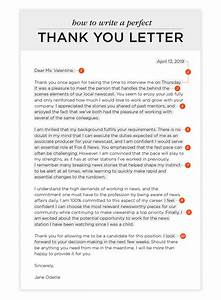 How To Write A Thank You Letter And Templates