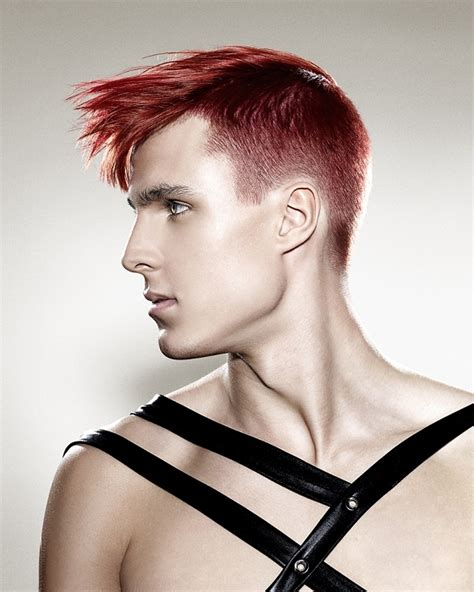 razor cut hairstyles  men