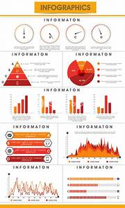 Creative Business Infographics Template With Statistical Graphs  Pie Charts And Paper Bars To