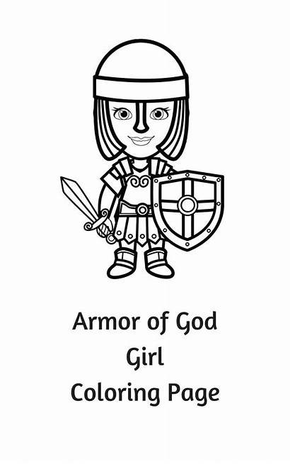 Coloring Pages God Armor Bible Crafts