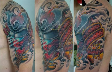 samurai helmet tattoo  pinterest discover