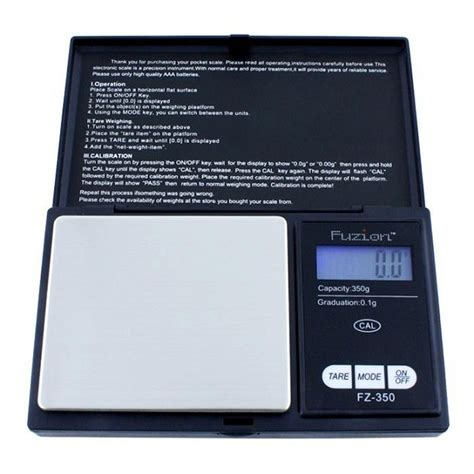 fuzion professional digital pocket scale 100g x 0 01g black