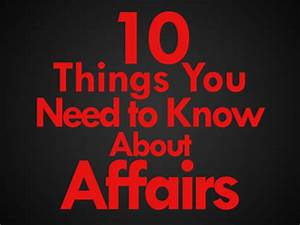 10 Things You Need To Know