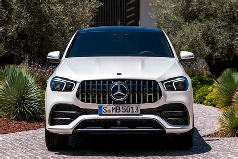 Two giant digital displays dominate the dashboard, are the gle's cabin is spacious, even in the back seat; 2021 Mercedes-Benz AMG GLE 53 Coupe Review, Trims, Specs and Price | CarBuzz