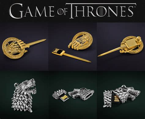 of thrones usb drives by of thrones 174 collectable usb drives