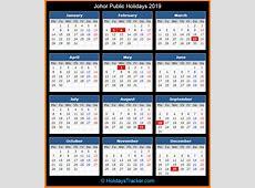 Johor Malaysia Public Holidays 2019 – Holidays Tracker