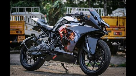 Modification Ktm Rc 390 by Best Ktm Rc 390 And 200 Graphics Modification