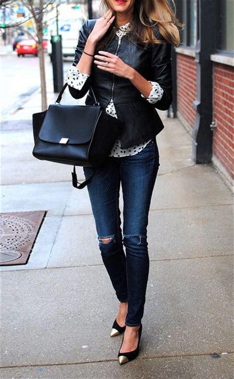 great ways  wear  ripped jeans  winter lifestuffs