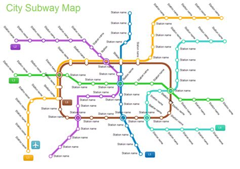 create your own floor plans free exles city subway map