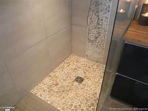 Douche À L Italienne Moderne : salle de bain avec douche l 39 italienne et baignoire lot ~ Voncanada.com Idées de Décoration