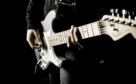 Download wallpaper 3840x2400 guitarist guitar musical