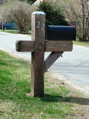 yankee style heavy duty mailbox post  newburyport ma