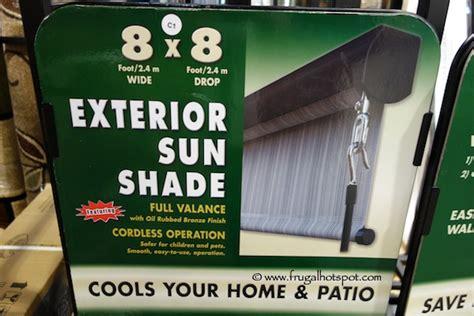 costco sale exterior sun shade 8 x8 frugal hotspot