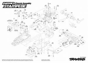 Exploded View  Traxxas Nitro Stampede 1 10 Tq Rtr