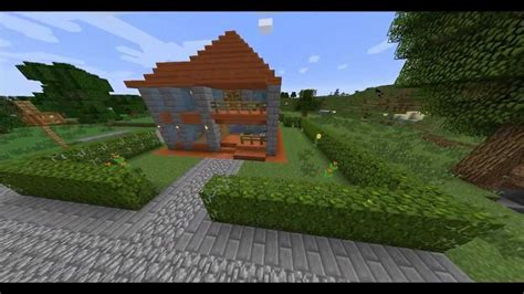 minecraft small house  acacia wood house youtube