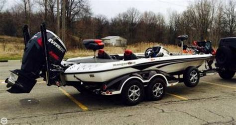 Ranger Bass Boat Dealers Ohio by 2014 Used Ranger Boats Z520c Comanche Bass Boat For Sale