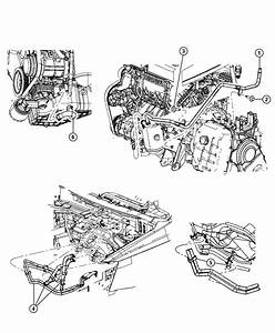 Chrysler Town  U0026 Country Used For  Hose And Tube  Heater Return  With  Engine Oil Cooler