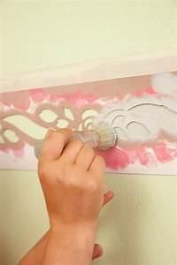 Schablonen Zum Streichen : farbige muster an der wand muster an der wand streichen formen und farben ragopige fototapete ~ Orissabook.com Haus und Dekorationen