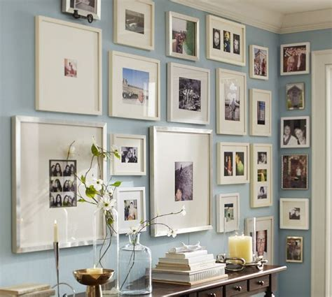pottery barn gallery in a box wood gallery oversized mat frames pottery barn mood