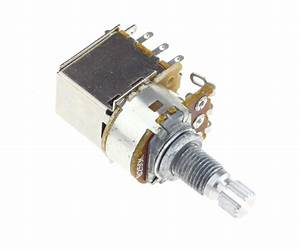 B250k Ohm Switch Pot Push Pull Audio Taper Electric Guitar Potentiometer Control 657472246575