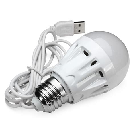 dc 5v 5w usb powered bulb type led l for