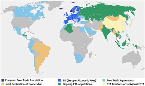 trade agreements european  trade association