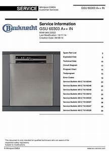 This Is The Exact Same Gsu 60303 A   In Dishwasher Service