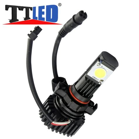ᗖtricolour 1set h11 25w led headlight headlight bulb low