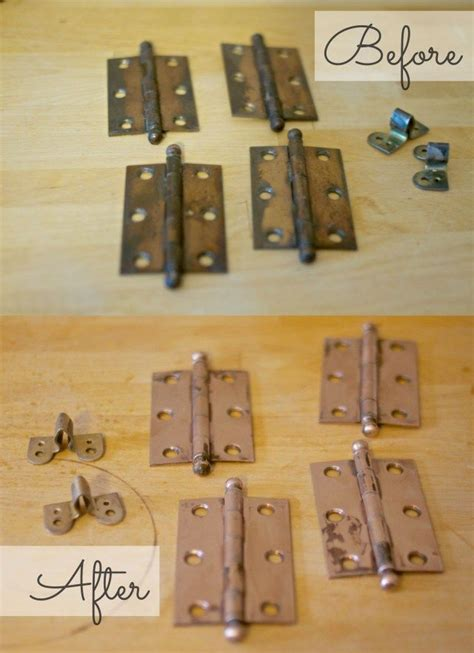 How To Paint Cabinet Hinges by How To Clean Door Hinges Dress This Nest Ideas For The
