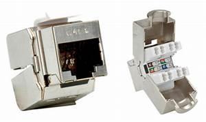 Fiche Rj45 Cat 6 : connecteur rj45 cat6 blind sftp stp keystone par ~ Dailycaller-alerts.com Idées de Décoration