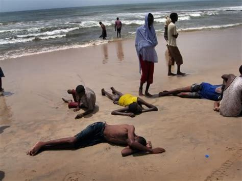 Refugee Boat Lands On Spanish Beach by Seventy Ethiopian Migrants Drown Off Red Sea Coast Of
