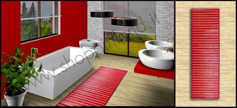 tappeti in bamboo tappeti shaggy arreda il bagno con i tappeti bamboo