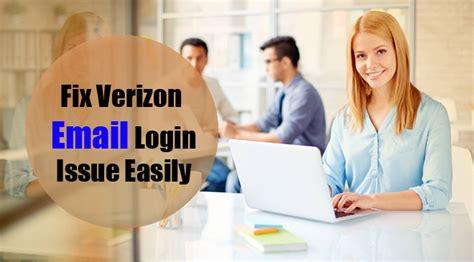 verizon help desk verizon email problem steps to fix login problem in