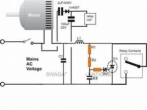 Start Run Capacitor Wiring Diagram And Kwikpik Me Motor