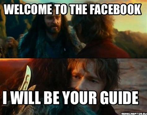 Guide To Memes - meme creator welcome to the facebook i will be your guide meme generator at memecreator org