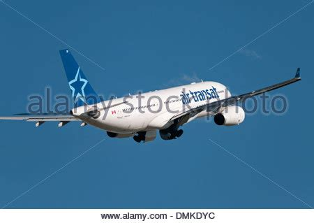 an airbus a330 of the canadian airline air canada on departure stock photo royalty free image